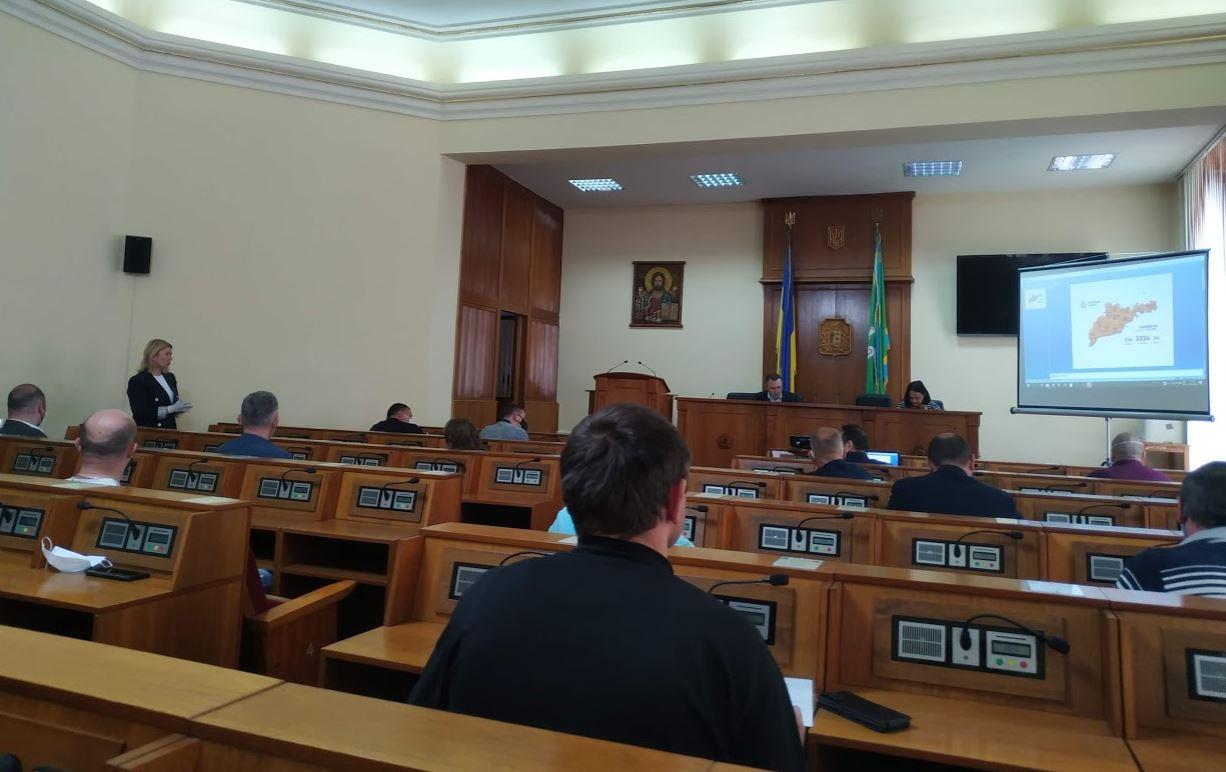Засідання обласної комісії з питань ТЕБ та НС