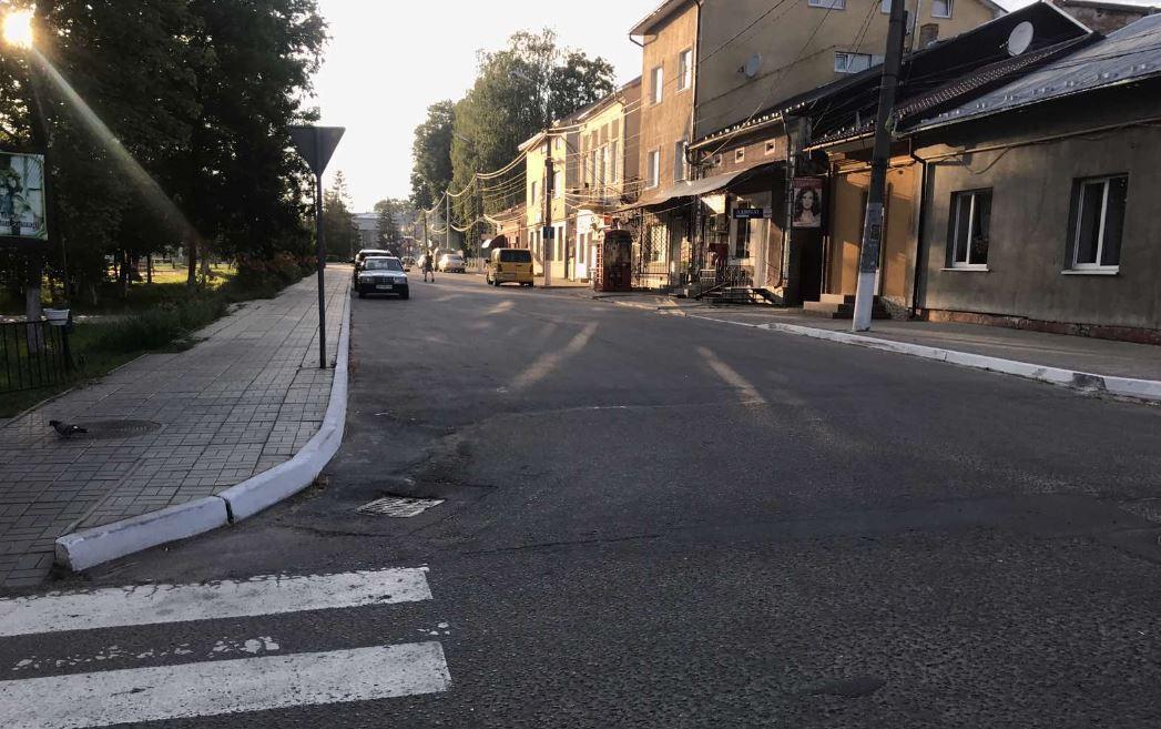 Звершення по пішохідній вулиці